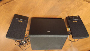 FOR SALE-- CYBER ACCOUSTICS COMPUTER SPEAKER SYSTEM
