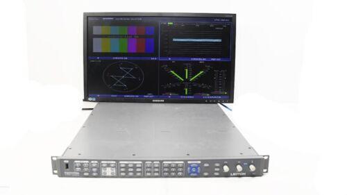 Leitch Harris VTM-4100 PKG Waveform Vector Monitor Opt 40 SD/HD EYE A3-OPT-5