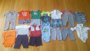 0-3 month boy lot