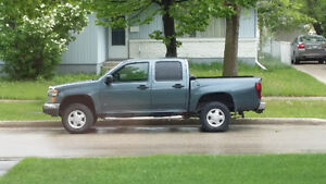 2006 GMC Canyon 4 door crew cab 4x4 loaded