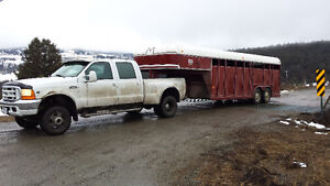 Livestock hauling available