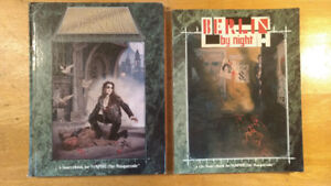 Lot of 2 Books Berlin by night & The Vampire Players Guide