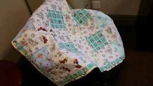 cute baby quilt - $10