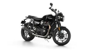 2019 Triumph Speed Twin Jet Black