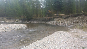 BC PLACER GOLD claim on PERRY CREEK