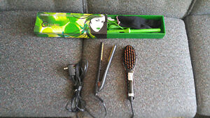 Almost brand new CHI straightener and other styling tools