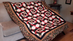 Beautiful Christmas quilt for sale