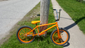 Fully custom BMX