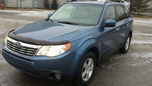 2010 SUBARU FORESTER 2.5 X AWD SUV certified+1year warranty