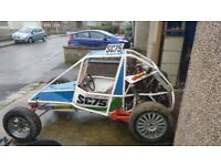 Grasstrack racing buggy