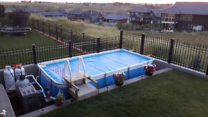 Above Ground Swimmimg Pool with Heater