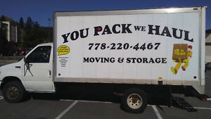 MOVING & STORAGE   - You Pack We Haul >Rates starting at $60/hr