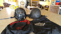 2 HARLEY DAVIDSON HELMETS FOR SALE