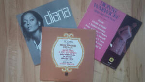 Motown Greats - Three vinly LP records for one price