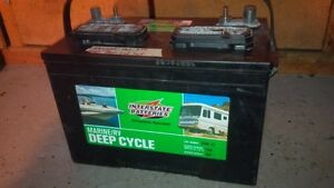 Interstate Marine/RV deep cycle battery