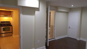 Brand new 1 Bedroom basement apartment for rent - new area
