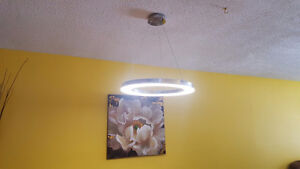 LED Ring Pendant Light Dimmable