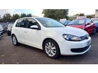 VW GOLF 1.6 TDI MATCH 5DR 2011 / £30 TAX / 78K MILES / FSH / HPI CLEAR / 2 KEYS