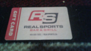 real sports bar and grill gift card