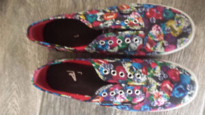 VANS shoes with jewels print Women 11 size (41).