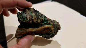 Malachite, Azurite, Cuprite
