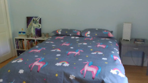 Unicorn Bedding! - Twin or Double - NEW