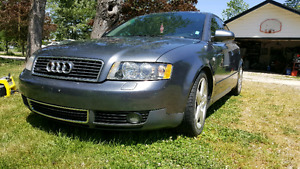 2004 Audi a4 Quattro manual turbo
