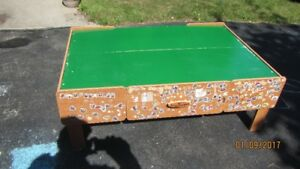 Imagination Train/Thomas Train table with Two Drawers