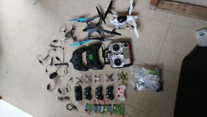 ***7 drones 1 Helicopter***Package Deal