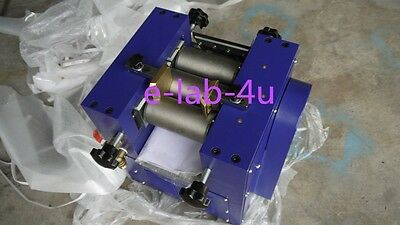 Three Roll Grinding Mill Grinder For Lab Applications 128mm Roller 5kgh E