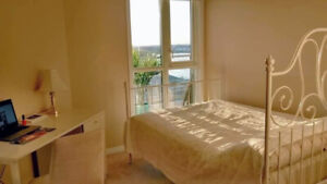 $800 Ocean View with Private Bath ((Furnished -Female only))