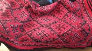 tapis en laine faits à la main