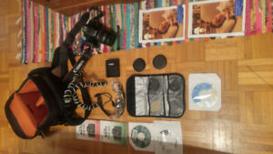 Kit complet Canon Rebel T1i EOS 500D
