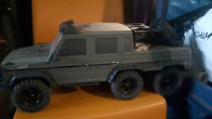 RC 6x6 rock crawler