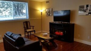 Furnished 2 bedroom unit in Deep River Available October 1st