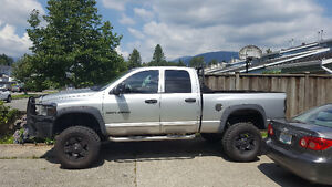 2006 dodge ram 2500 lifted sound system truck in vancouver