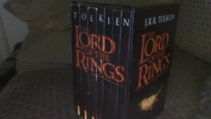 Lord of the Rings Paperback 7 Book Box Set