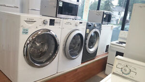 WASHERS AND DRYERS = (FRONT AND TOP-LOAD)