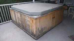 FREE hot tub. 7'x7'. Taker covers cost of removal.