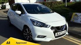 2017 Nissan Micra 0.9 IG-T N-Connecta 5dr Manual Petrol Hatchback