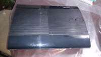 PS3 with 4 games and 1 controler