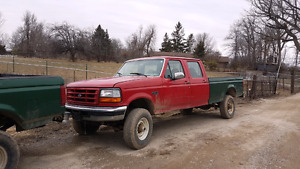 1996 Ford F350 4x4 7.3L Turbo Diesel