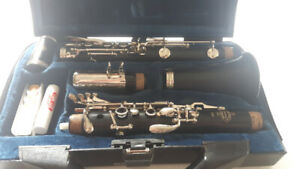 Buffet B 10 clarinet great player!  This is your first clarinet!