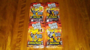 2009 Mcfarlane Guitar Hero complete set.