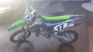 2014 KX85 Kawasaki