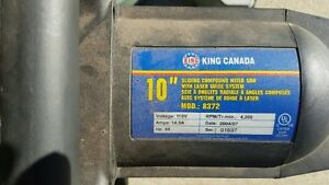 10 inch King Canada compound Miter Saw Strathcona County Edmonton Area image 3