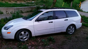 2003 Ford Focus Wagon 400 OBO motivated to sell