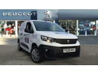 2020 Peugeot Partner Standard Petrol 1000 1.2 PureTech 110 Professional Van Van