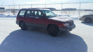 PRICE REDUCED 1998 Subaru Forester S AWD