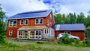 Off-grid new property on 50 acres